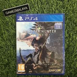 [NEW] PS4 MONSTER HUNTER WORLD - (GAMEZMALAYA)