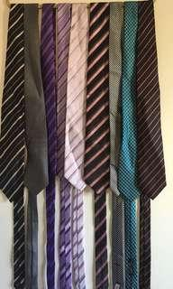 Bulk lot men's ties