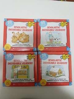 🚚 Scholastic Decodable Readers with CD (Complete Set)