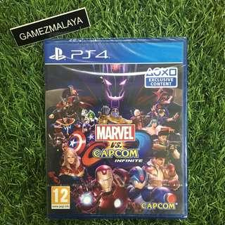 [NEW] PS4 MARVEL VS CAPCOM - (GAMEZMALAYA)