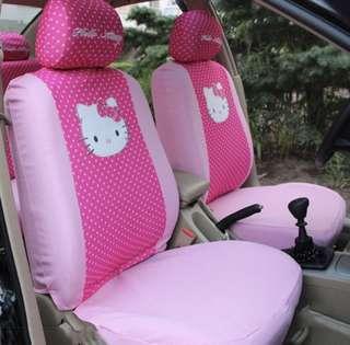 Hello kitty car cushion cover