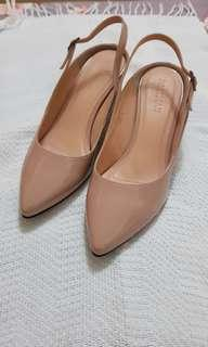 Nude shoes size 6 (used once)