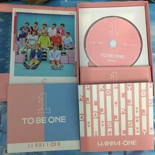 WannaOne To Be One pink Version