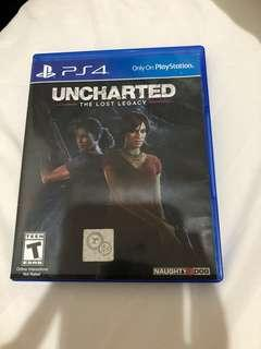 Uncharted The Lost Legacy Kaset Game PS4