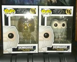 (ON HAND) Demiguise Regular & Invisible Fantastic Beasts Funko Pop Bundle
