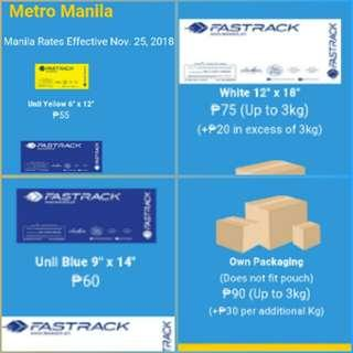 FASTRACK NEW RATES