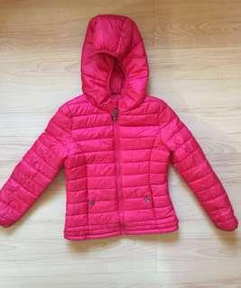 Terranova Red bubble jacket Size 8-9