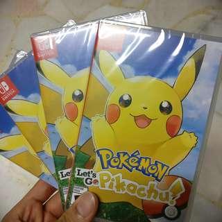 Pokemon Let's Go Pikachu edition