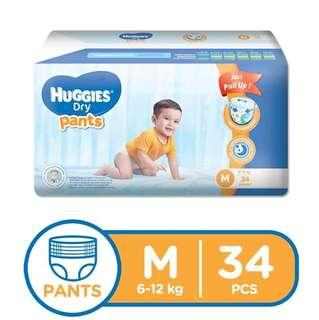 Huggies Dry Pants S/M/XL/XXL