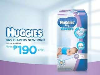 40pcsNewborn Huggies