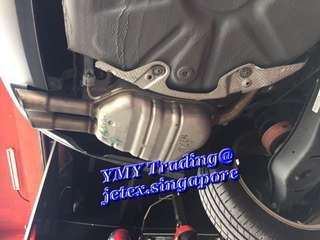 #jetexexhausts_vw. #jetexexhaustsasialink. Year 2018 VW Jetta Single Charge turbo model with 150BHP & 250NM upgraded Jetex Twin tip catback system..