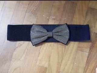 🆕 black ribbon belt
