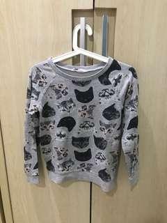 sweater motif kucing