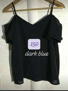 dark blue bakuna top