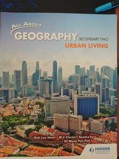 All about Geography Secondary 2 Textbook Urban Living