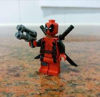 LEGO 6866 Marvel Super Heros Deadpool minifig