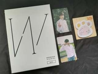 WOOHYUN WRITE + 2PHOTOCARDS