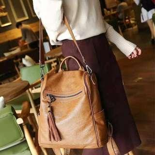 ladies sling bag brown
