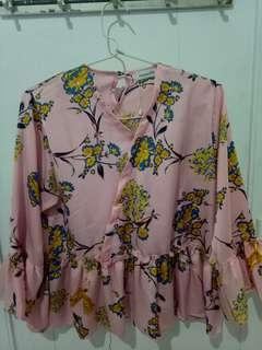 Blouse pink mayoutfit