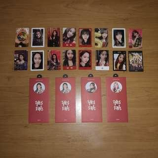 🚚 wts twice 'yes or yes' photocards