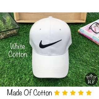 White Nike Baseball Hat / Cap