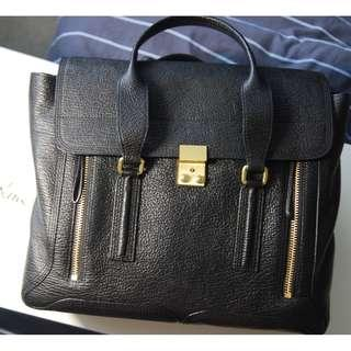 Authentic 3.1 Phillip Lim Large Pashli Satchel in Black