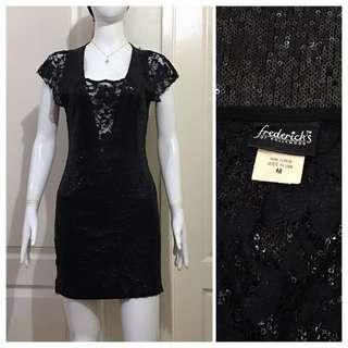 NC107 full lace and sequence bodycon dress
