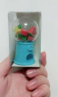 Fruit eraser dispenser