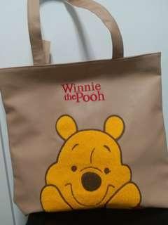 Winnie The Pooh 小熊維尼 袋 單肩袋 手抽袋 保袋