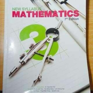 Mathematics Sec 3 Textbook (7th Edition)