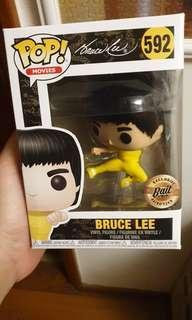 Funko pop flying kick Bruce Lee good condition