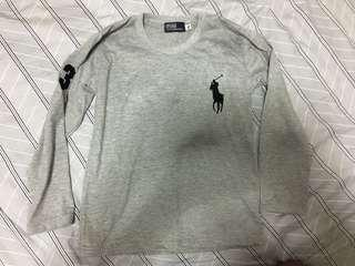 Ralph Lauren Replica Grey Sweater