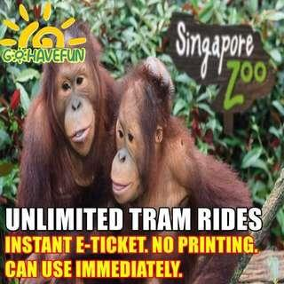🚚 Singapore Zoo Admission E ticket