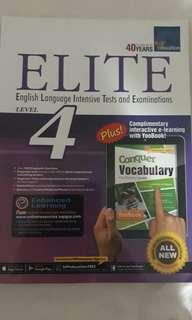 Elite English Assessment Book Primary 4