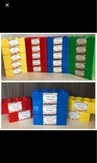 Christmas gift / party packs -LEGO box