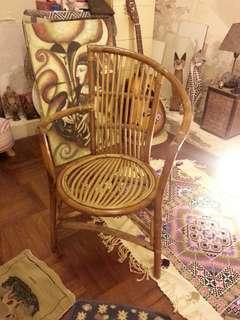 懷舊手工古董藤椅 Vintage Chair Hand made craft