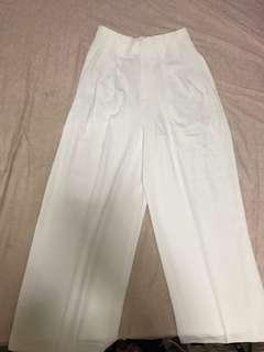Brand new Uniqlo White Pants