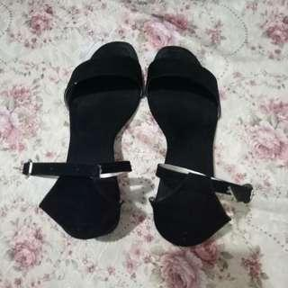 Block heels size 38