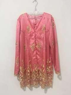 Kebaya Pink Pastel