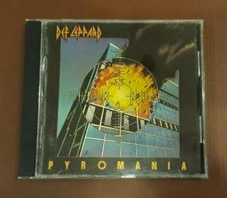 CD Def Leppard - Pyromania ( Original 1983 Early USA Press )