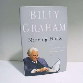 Nearing Home - Billy Graham (Hardbound)