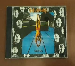 CD Def Leppard - High 'N' Dry ( Original 1981 Early USA Press )