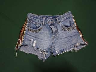 BDG denim shorts