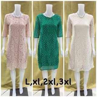 Princess 3/4 Lace Dress