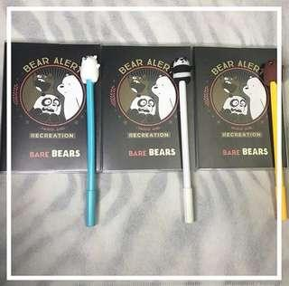 We Bare Bares Notebook and Ballpen