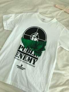 Public enemy/supreme t shirt