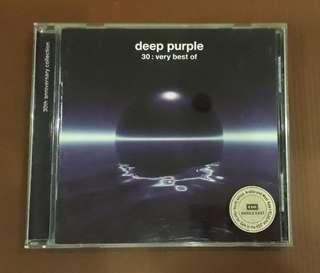 CD Deep Purple - 30 : Very Best Of ( EU PRESS )