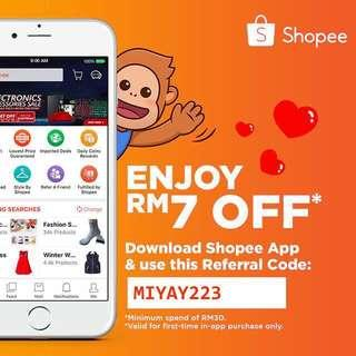 RM7 OFF for new sign up