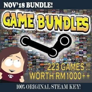 223 Steam Games For RM50 Only!