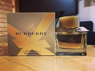 My Burberry EDP Natural Spray Vaporisateur 90ml 3.0 FL OZ for Women(大小包裝兩款 二選一)